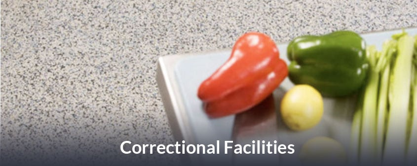 JetRock flooring for Correctional Facilities