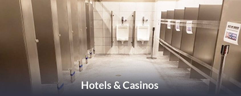 JetRock flooring for Hotels and Casinos