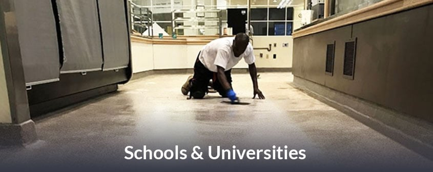 JetRock flooring for Schools and Universities
